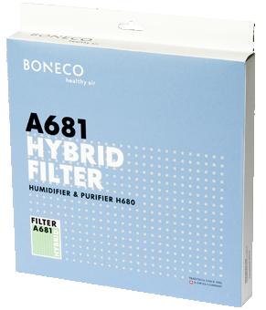 A681 HYBRID filter - verrpakking