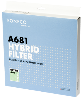 A681 HYBRID filter - packaging