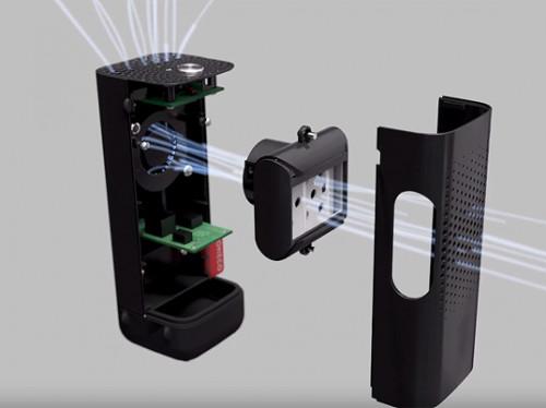 Boneco ionizer P50 - systeem