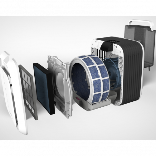 A681 HYBRID filter - parts