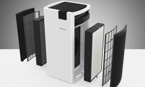 Boneco Luchtreiniger P700 - filter details