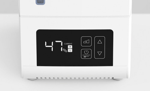 BONECO S250 Digital Steam Humidifier - display