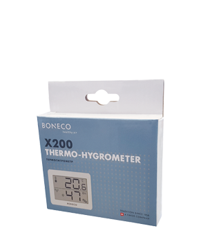 X200 Thermo-Hygrostat packaging